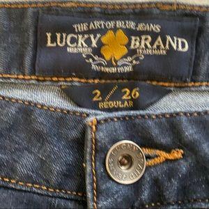 Lucky Brand Lolita skinny jeans sz 2/26